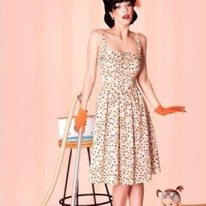 Bettie Page Berry Sweet Sun Dress NWT